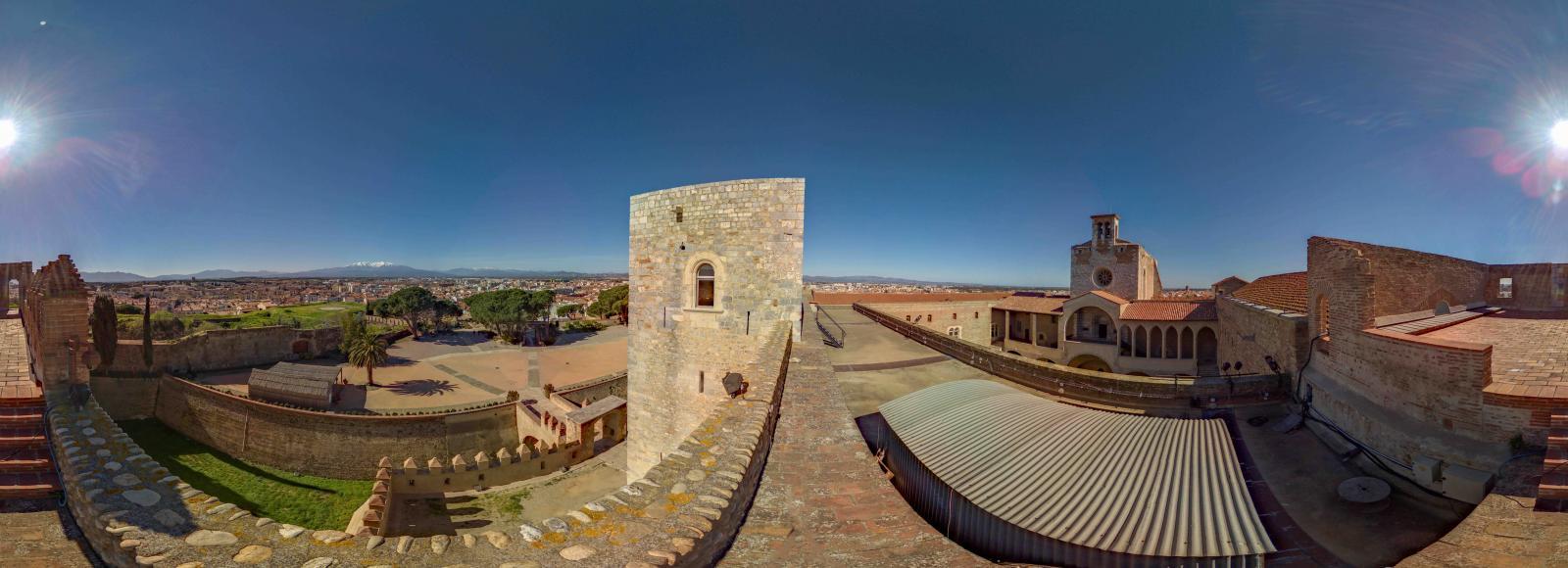 Palais des Rois de Majorque 360°