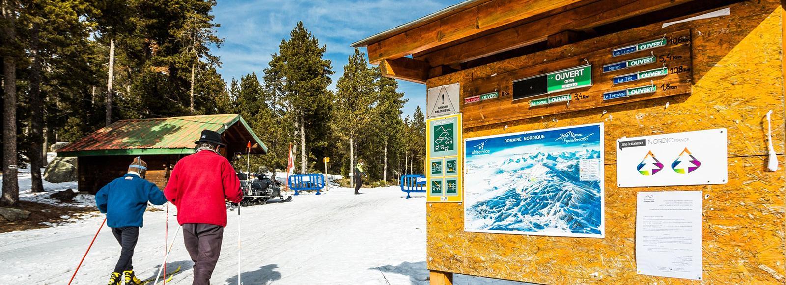 ski de fond - Espace Nordique du Capcir